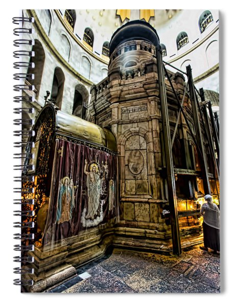 Edicule Of The Tomb Spiral Notebook