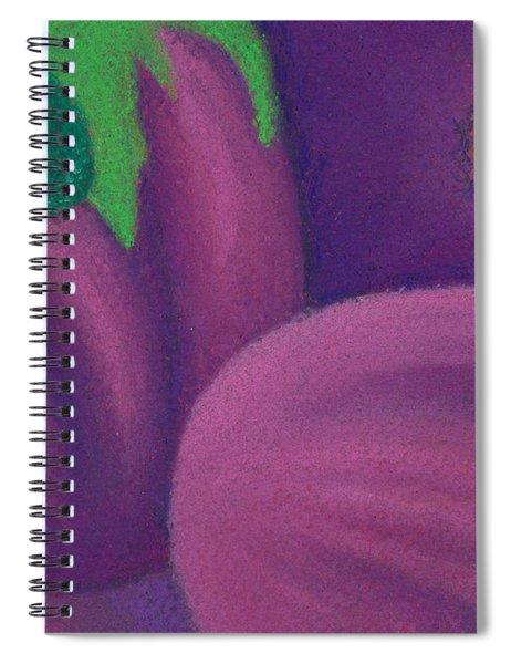 Eggplants Spiral Notebook