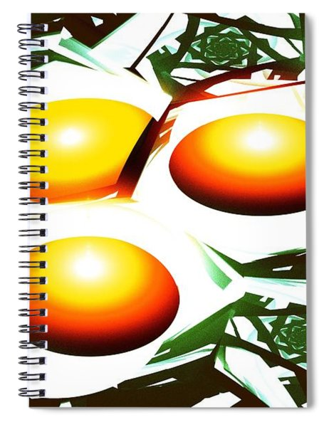 Eggs For Breakfast Spiral Notebook