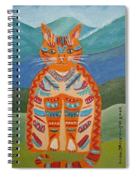 Egyptian Don Juan Spiral Notebook