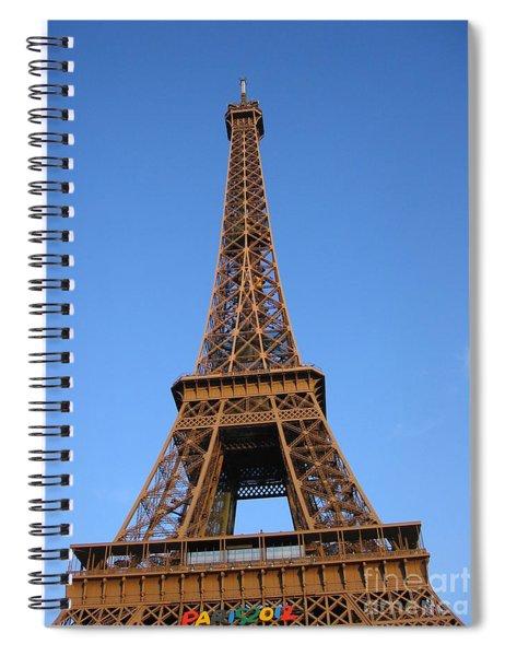 Eiffel Tower 2005 Ville Candidate Spiral Notebook