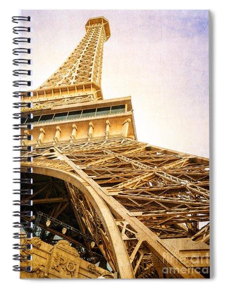 Eiffel Tower Spiral Notebook