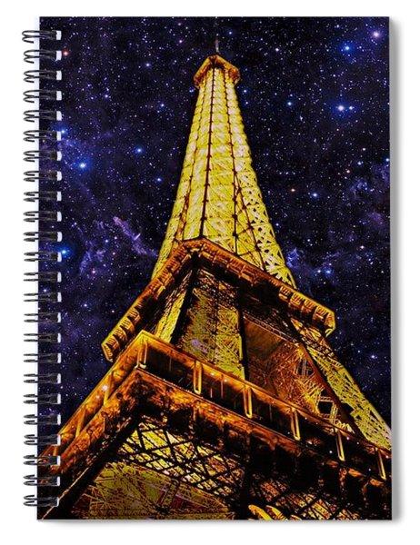 Eiffel Tower Photographic Art Spiral Notebook