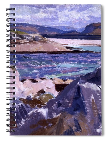 Eilean Annraidh From The North End Spiral Notebook