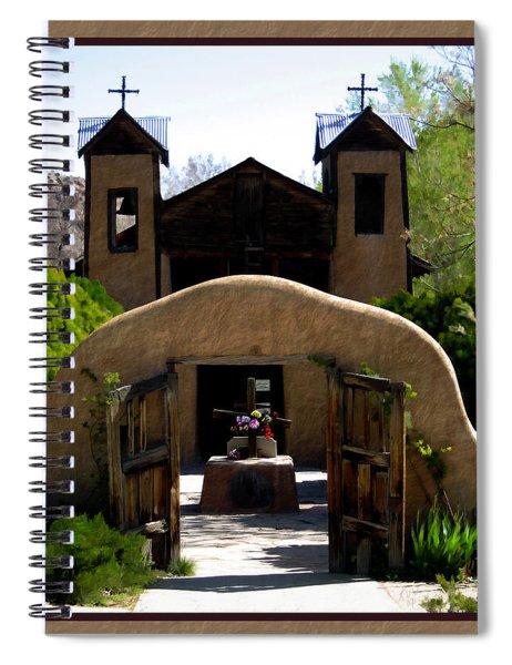 El Santuario De Chimayo Spiral Notebook