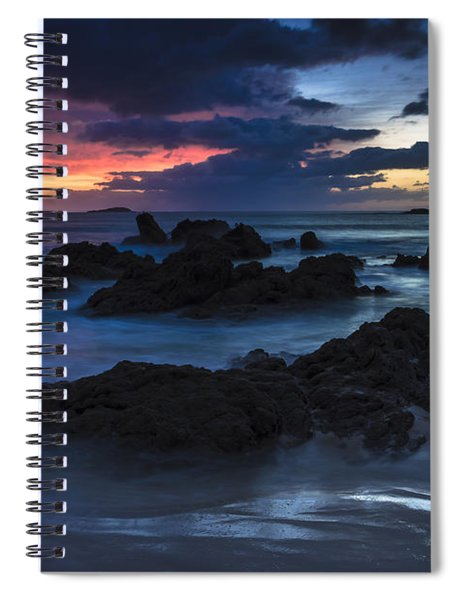 El Villar Beach Galicia Spain Spiral Notebook