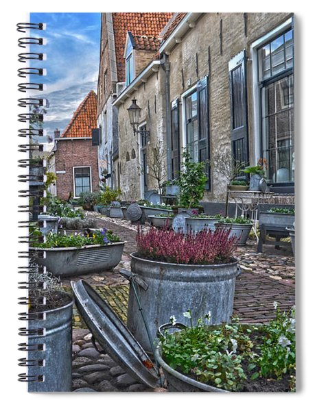 Elburg Alley Spiral Notebook
