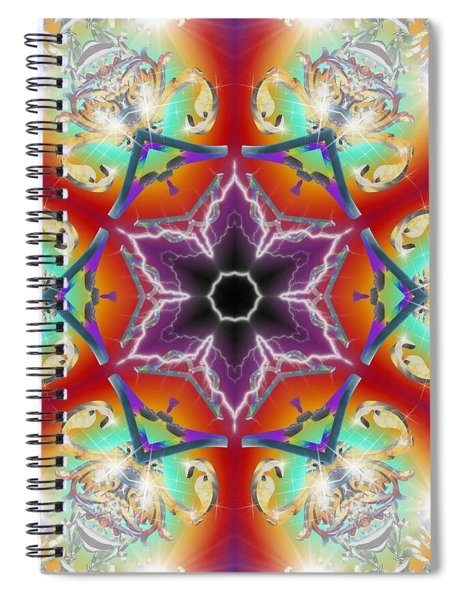 Electric Enlightenment Spiral Notebook