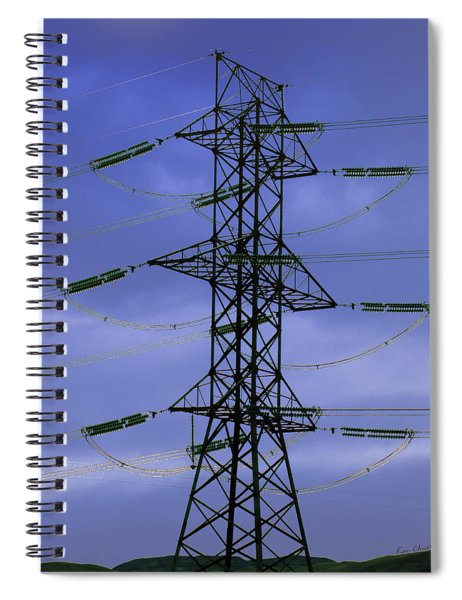 Electric Moment Spiral Notebook