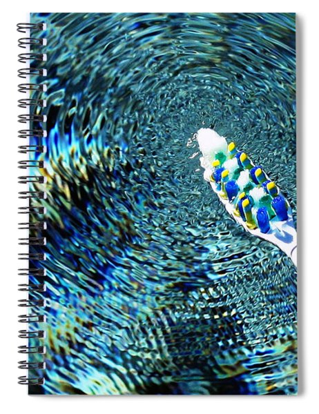 Electric Toothbrush Spiral Notebook