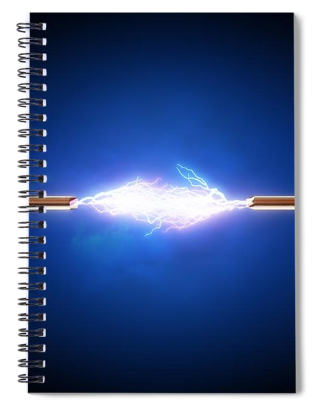Electric Current / Energy / Transfer Spiral Notebook