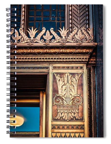 Elegant And Old Spiral Notebook