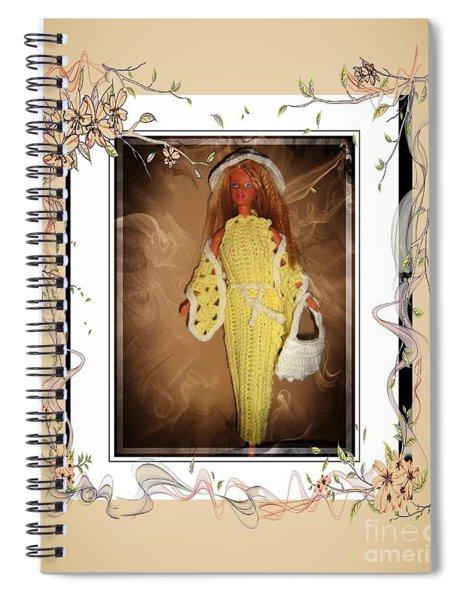 Elegant Evening - Fashion Doll - Girls - Collection Spiral Notebook