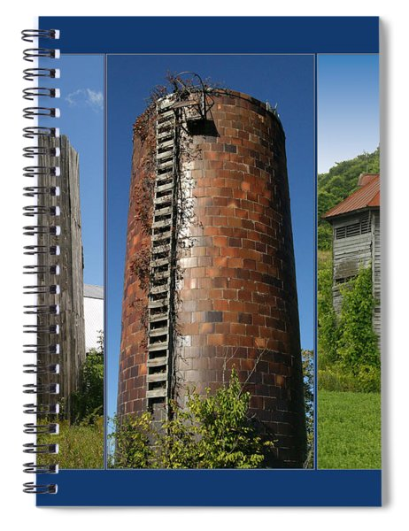 Elegy To Family Farms Spiral Notebook