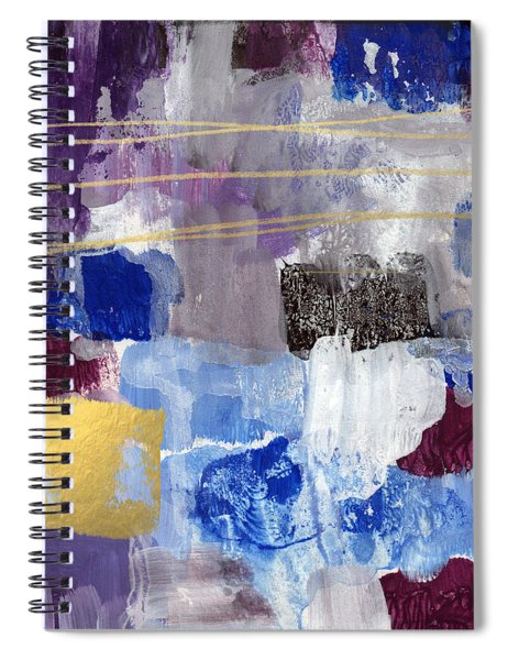 Elemental- Abstract Expressionist Painting Spiral Notebook