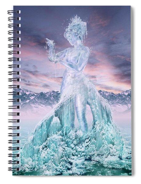 Elements - Water Spiral Notebook