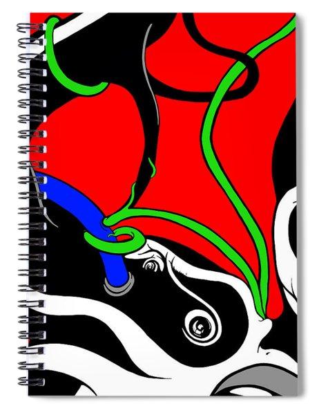 Elephant Titus Spiral Notebook