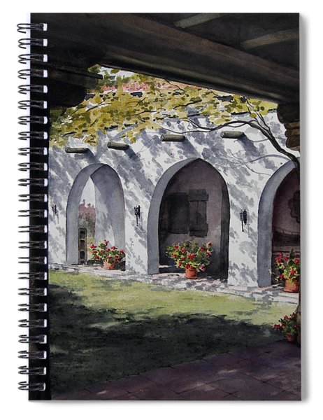 Elfrida Courtyard Spiral Notebook