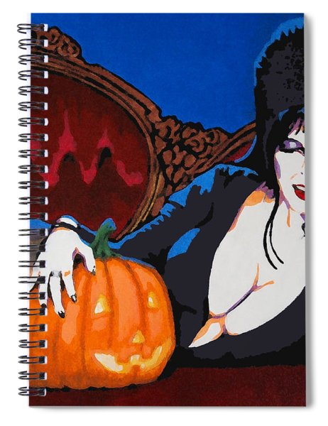 Elvira Dark Mistress Spiral Notebook