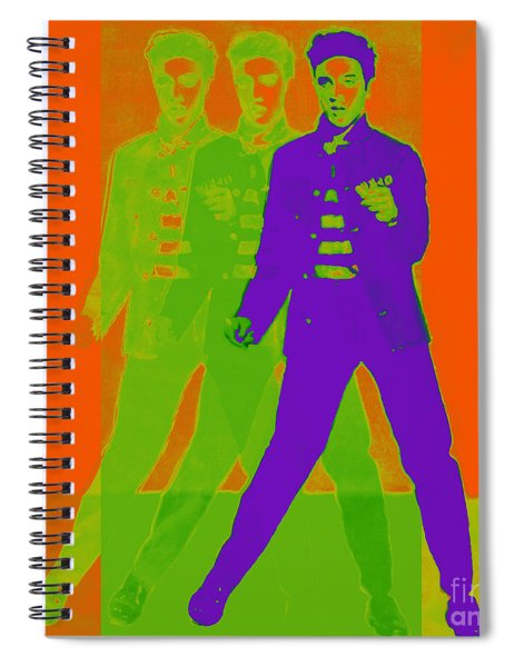 Elvis Jail House Rock 20130215m28 Spiral Notebook