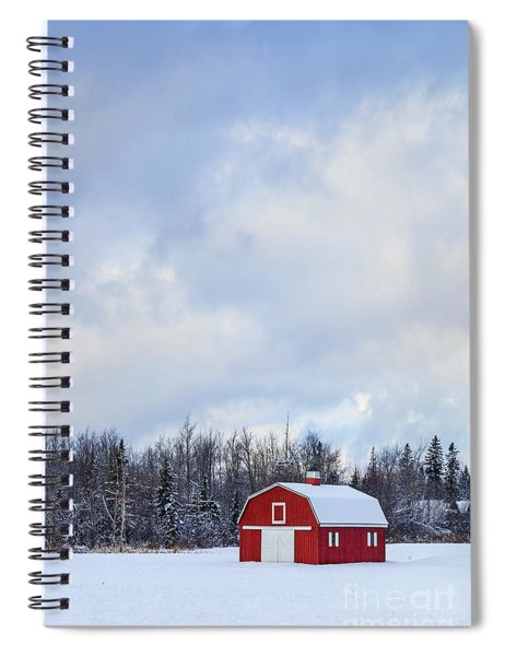 Embrace The Cold Spiral Notebook