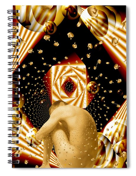 Embryonic Voyage Spiral Notebook
