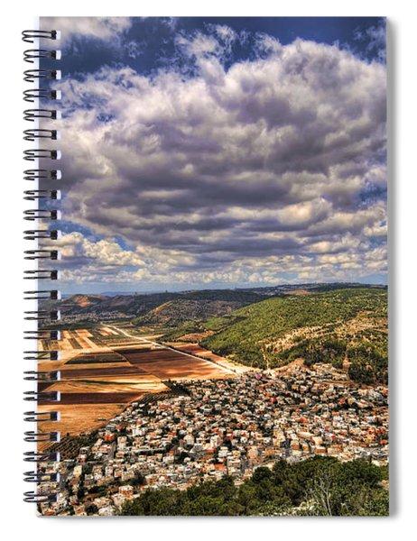 Emek Israel Spiral Notebook