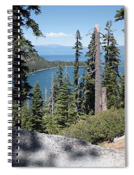 Emerald Bay Vista Spiral Notebook