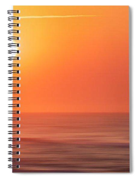 Emerald Isle Sunrise Spiral Notebook