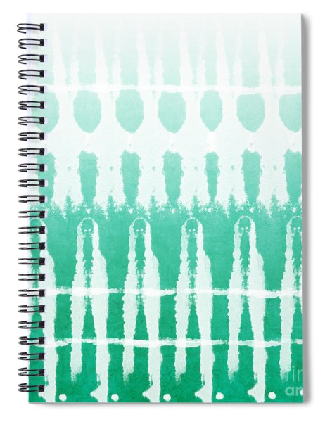Emerald Ombre  Spiral Notebook