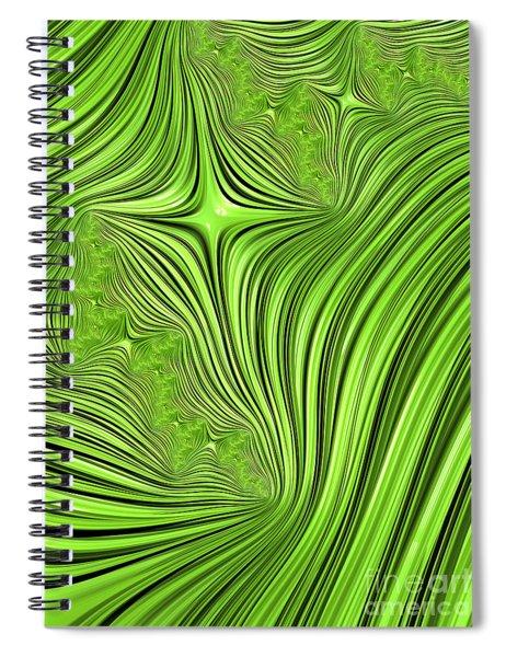 Emerald Scream Spiral Notebook