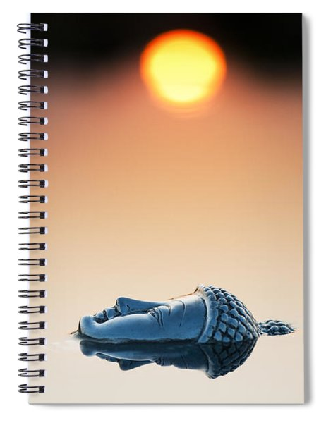 Emerging Buddha Spiral Notebook