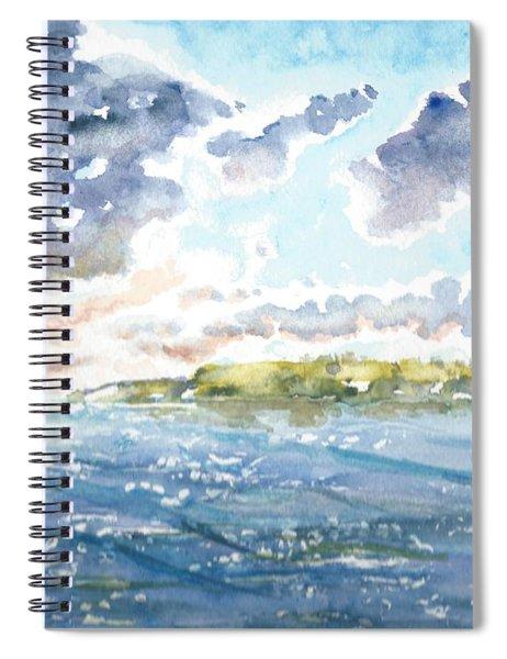 Emerging Sun  Spiral Notebook