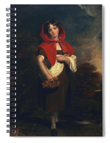 Emily Anderson Little Red Riding Hood Spiral Notebook