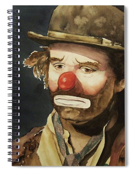 Emmett Kelly Spiral Notebook