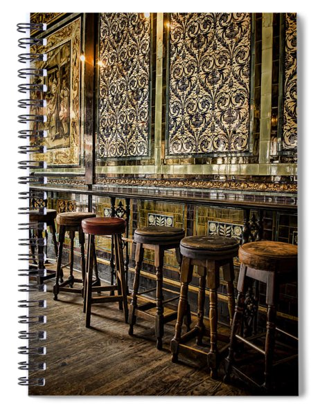 Empty Pub Spiral Notebook