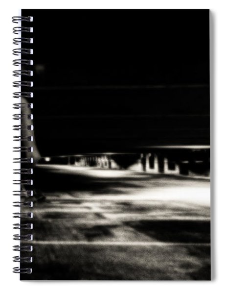 Empty Spaces Spiral Notebook