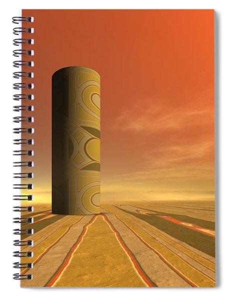 Empty Vase Spiral Notebook
