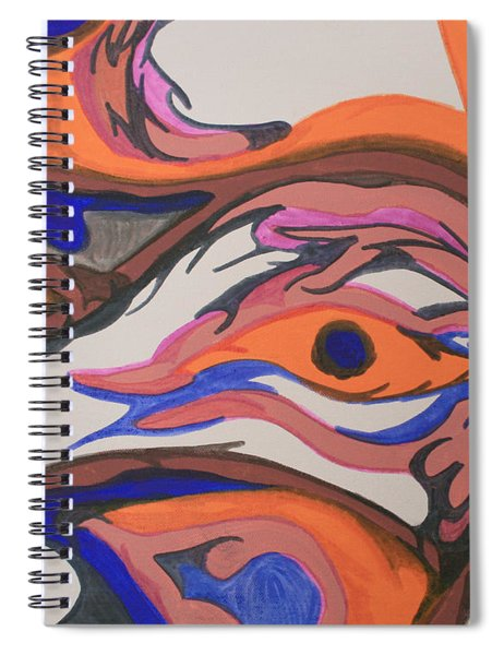En Formation Spiral Notebook