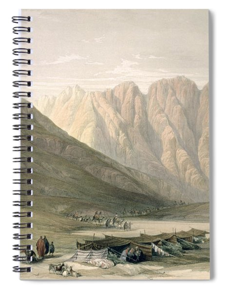 Encampment Of The Aulad-said, Mount Spiral Notebook