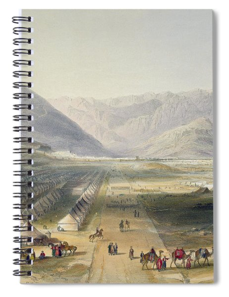 Encampment Of The Kandahar Army Spiral Notebook