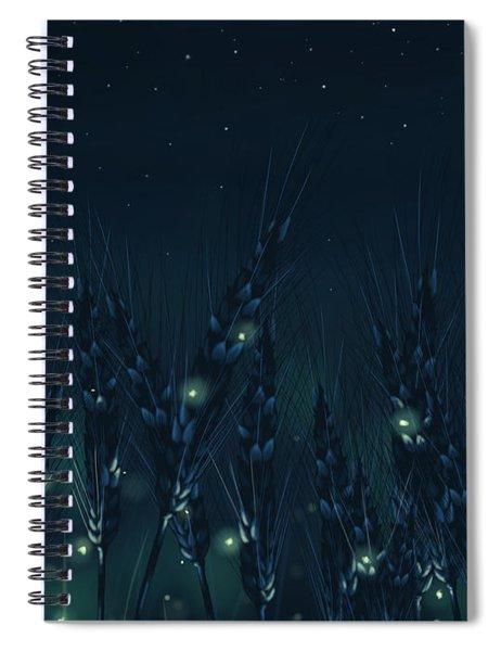Enchanted Night Spiral Notebook