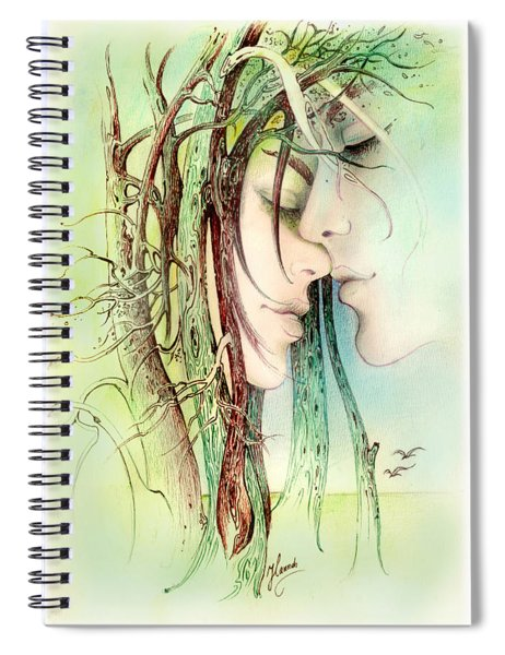 Encounter  From Love Angels Series Spiral Notebook