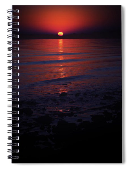 Ending Colors Spiral Notebook