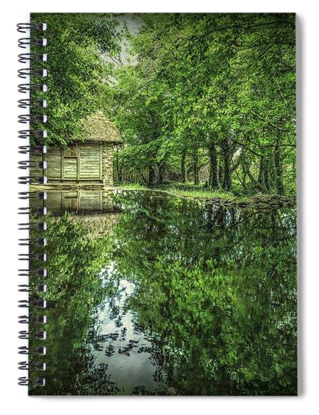 Endless Shades Of Green Spiral Notebook
