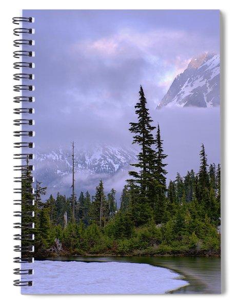 Enduring Winter Spiral Notebook