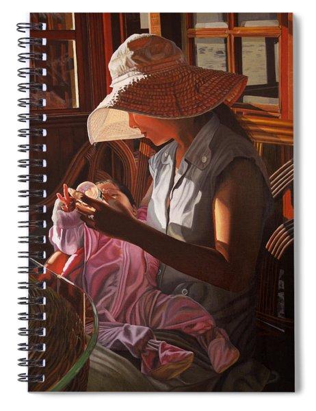 Enfamil At Ha Long Bay Vietnam Spiral Notebook