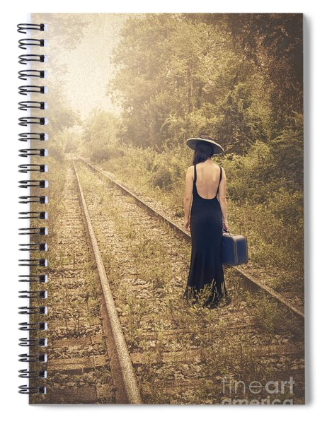 Engaged With Destiny Spiral Notebook