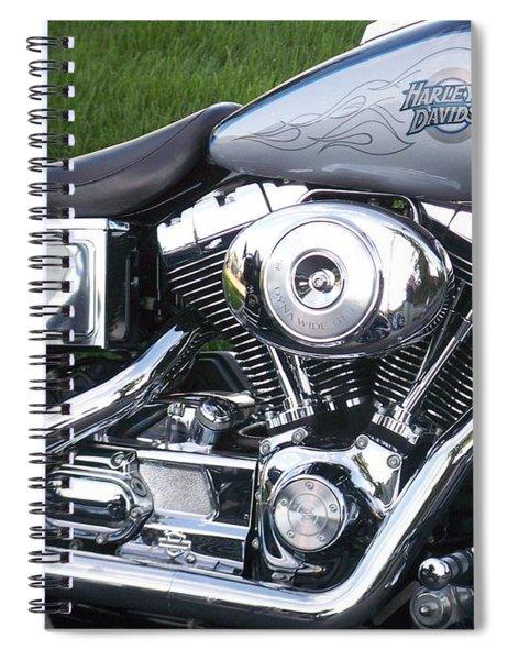 Engine Close-up 5 Spiral Notebook