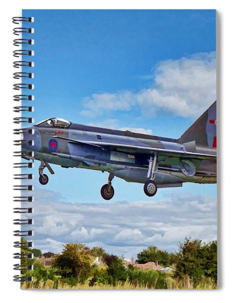 English Electric Lightning Spiral Notebook